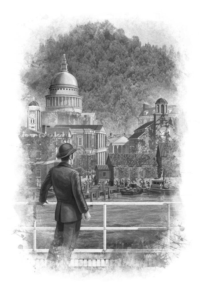 Sherlock Holmes: Lord of Damnation Interior Illustration