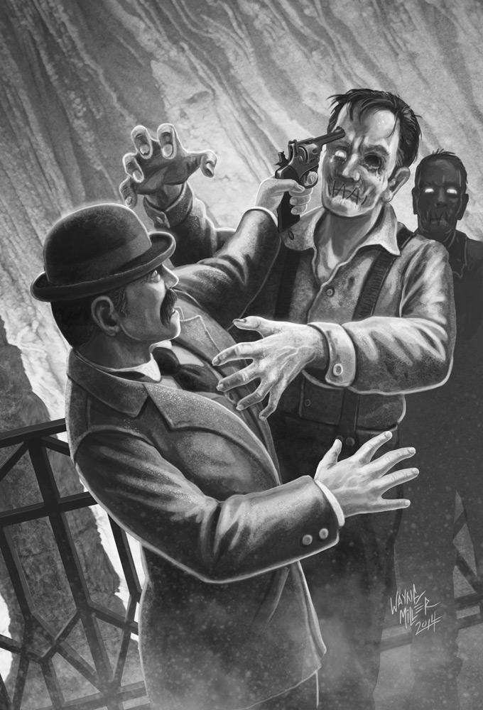 Illustration by M. Wayne Miller